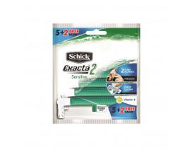 Schick Exacta 2 Sensitive Disposable Razor 5+2s - Case