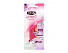 Schick Exacta 2 Sensitive For Women 2+1s - Case