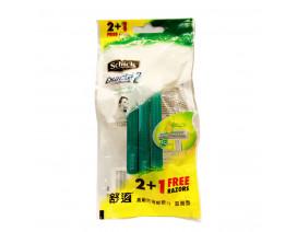 Schick Exacta 2 For Sensitive Disposable Razor 2+1s - Case