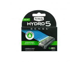 Schick Hydro 5 Sense Comfort Razor Blade Refill 4s - Case
