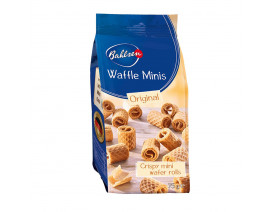 Bahlsen Waffle Mini Original Wafer Rolls - Case
