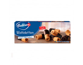 Bahlsen Deloba Waffeletten Dark Chocolate Dipped Wafer Rolls - Case
