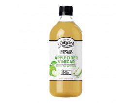 Barnes Naturals Organic Apple Cider Vinegar with The Mother - Case
