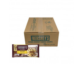 Hershey's SemiSweet Chips 25Lb Food Service Pack (Special Promotion) - Case