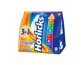 Horlicks 3-In-1 Instant Malted Drink Powder - Case