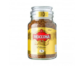 Moccona Classic Medium Roast Freeze Dried 5 Instant Coffee - Case