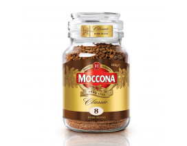 Moccona Classic Dark Roast Freeze Dried 8 Instant Coffee - Case
