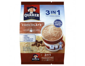 Quaker 3-in-1 Chocolate - Case