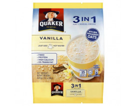 Quaker 3-in-1 Vanilla - Case