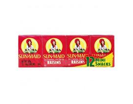 Sunmaid Natural California Raisins Mini Pack - Case