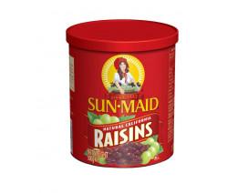 Sunmaid Natural California Raisins Canister - Case