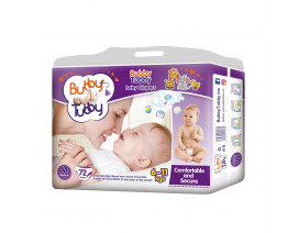 Bubby Tubby Comfort and Secure Baby Diaper M (6-11Kgs) - Case