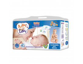 Bubby Tubby Comfort and Secure Baby Diaper S (4-8Kgs) - Case
