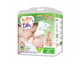 Bubby Tubby Comfort and Secure Baby Diaper XL (12-17Kgs) - Case