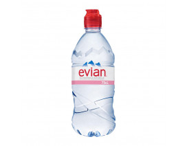 Evian Natural Mineral Water with Sports Cap - Case