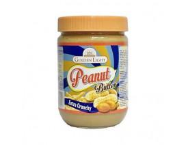 Golden Light Peanut Butter Extra Crunchy - Case