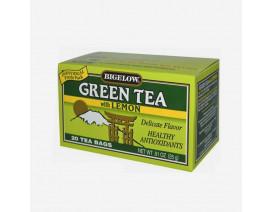 Bigelow Green Tea With Lemon Tea Bags - Case