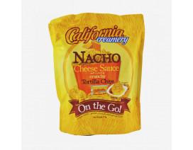 California Creamery Nacho Cheese Sauce & Tortilla Chips - Case