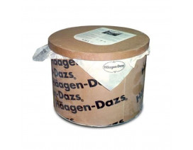 Haagen-Dazs Cookies & Cream Ice Cream - Case