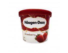 Haagen-Dazs Strawberry Ice Cream - Case