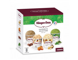 Haagen-Dazs Favorite Selection Ice Cream - Case