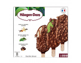 Haagen-Dazs Vanilla Greentea Choc Ice Cream - Case