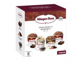 Haagen-Dazs Chocoholic Moments Ice Cream - Case