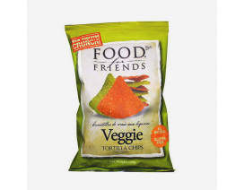 Food For Friends Tortilla Chips Veggie - Case