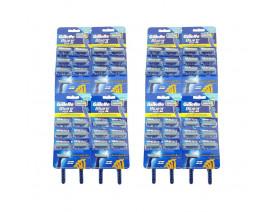 Gillette Blue II Plus Disposal Razor - Case