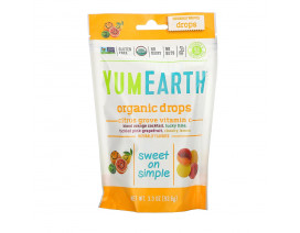 YumEarth Organic Vitamin C Drops Citrus Grove - Case