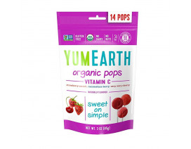 YumEarth Organic Vitamin C Lollipops- Case