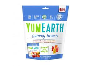 YumEarth Organic Gummy Bears Assorted Flavors - Case