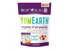 YumEarth Organic Gummy Fruit Assorted Flavors - Case