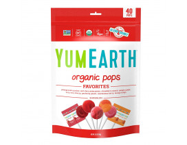 Yummy Earth Organic Assorted Lollipops - Case