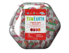 YumEarth Organic Assorted Lollipops - Case