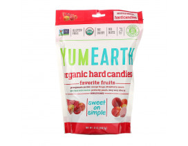 YumEarth Organic Candy Drops Freshest Fruit - Case