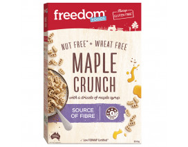 Freedom Foods Maple Crunch - Case