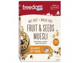Freedom Foods Fruit & Seed Muesli - Case