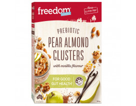 Freedom Foods Pear Almond Clusters - Case
