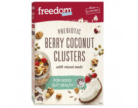 Freedom Foods Berry Coconut Clusters - Case