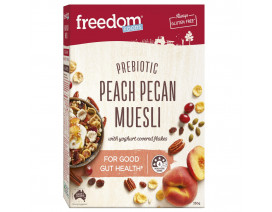 Freedom Foods Peach Pecan Muesli - Case