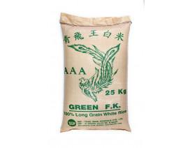 Green F.K. AAA Long Grain White Rice - Case