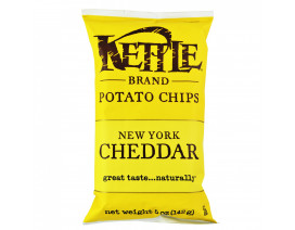 Kettle Chips New York Cheddar with herbs - Case