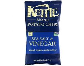 Kettle Chips Sea Salt & Vinegar - Case