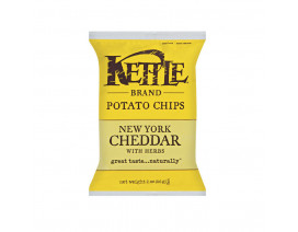 Kettle Little Giant Bags New York Cheddar with herbs - Case