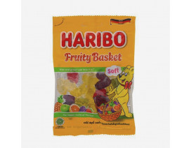 Haribo Fruity Basket Gummy Candy - Case