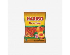Haribo Peaches Gummy Candy - Case