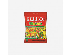 Haribo Worms Gummy Candy - Case