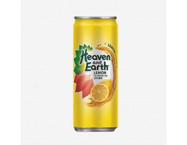 Heaven & Earth Ice Lemon Tea Can Drink - Case