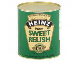 Heinz Deluxe Sweet Relish (Buy 1 case n get 1 free) - Case